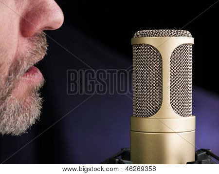 The Golden Microphone
