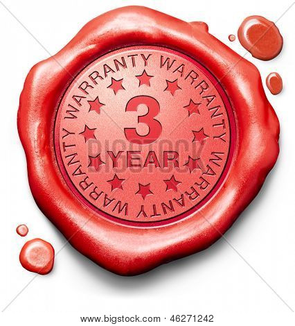 3 year warranty top quality product three years assurance and replacement best top quality guarantee guaranteed commitment