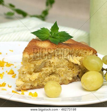Slice Of Grapecake