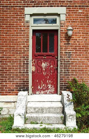 The old and vintage doors of German Village, Columbus, Ohio