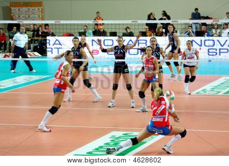 A1 Italian Volleyball Championship, volley match