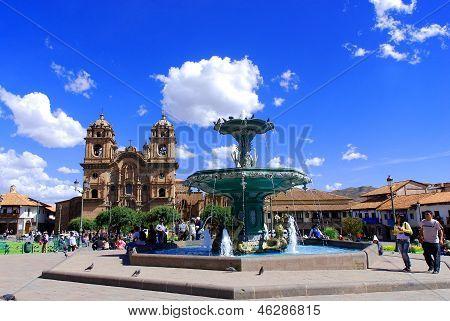 Iglesia La Compana de Jesus  Cusco Peru