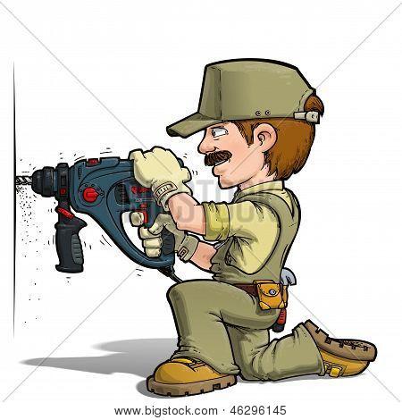 Handyman - Drilling Khaki