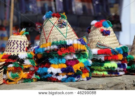 Traditional Hats In Morocco