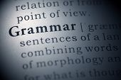foto of grammar  - Fake Dictionary,