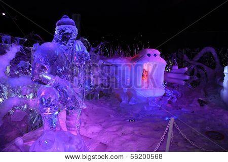 Ice Sculpture Bruges 2013 - 06