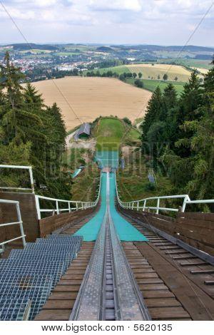 Ski Jump Tower