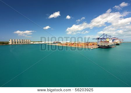 Ships Loading And Unloading - Industrial