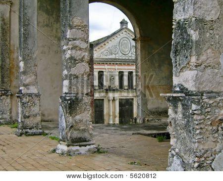 Old Hacienda In Yucatan, Mexico
