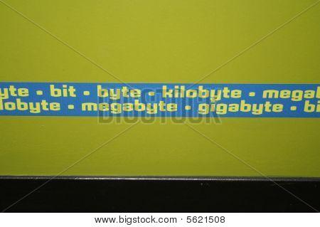Byte megabyte gigabyte