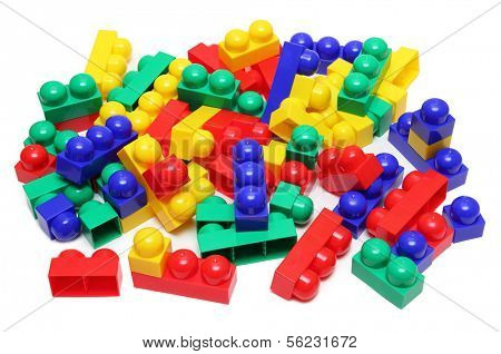 building of blocks - meccano toy