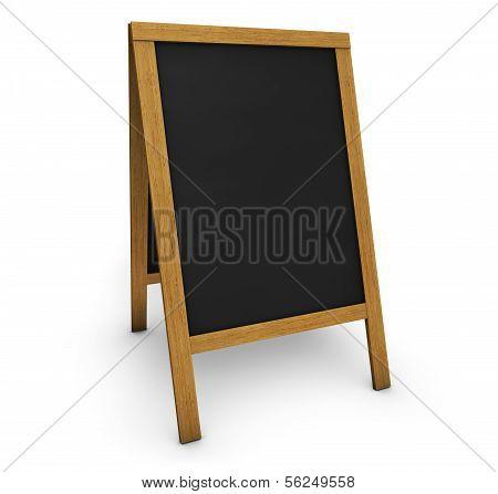 Tafel-Speisekarte