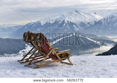 Reclining On The Slopes