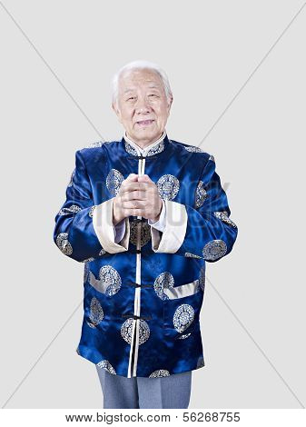 Portrait Of A Senior Chinese Man