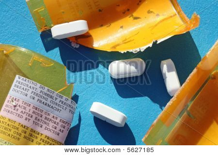 Broken Prescription Bottle