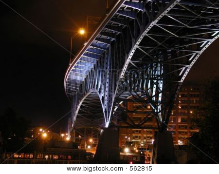 Nighttime Bridge