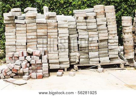 Brick Concrete Blocks