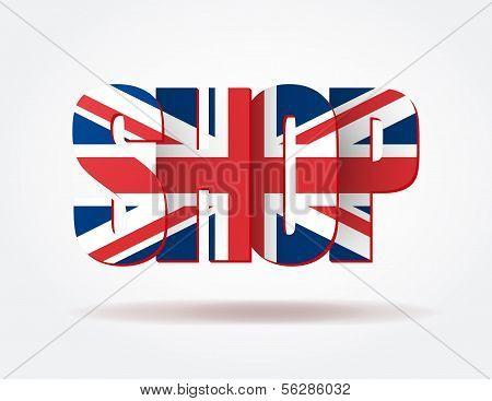 Typography Internet british shop