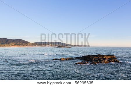 Coastline At Coffs Harbour Australia