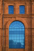 Historic Factory Building Style. poster