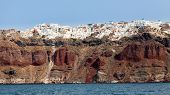 Santorini From The Sea