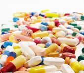 foto of pharmaceuticals  - Various pharmaceuticals - JPG