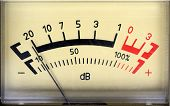 decibel meter - part of sound equipment