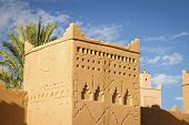 Traditional architecture of Morocco, Africa.