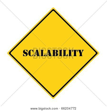 Scalability Sign