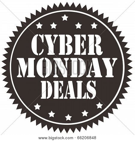 Cyber Monday Deals-label