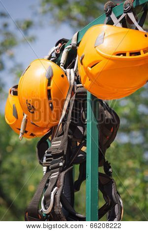 Zipline Safety Equipment