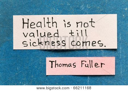 Health Valued