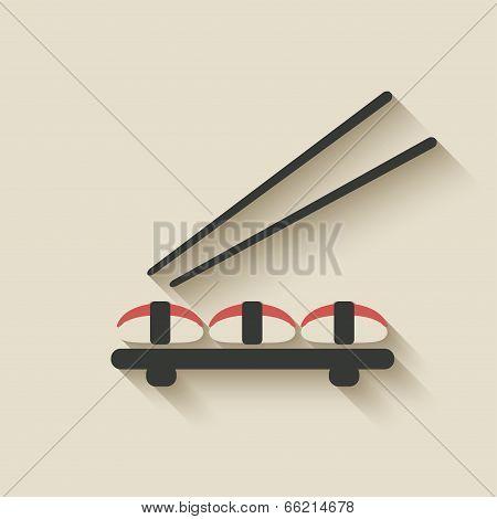 sushi roll icon