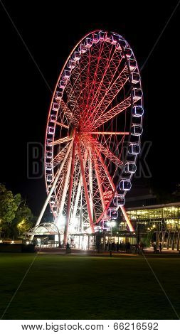 Brisbane Southbank Parklands ferris wheel