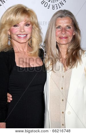 LOS ANGELES - JUN 4:  Loni Anderson, Jan Smithers at the Baby, If You've Ever Wondered: A WKRP in Cincinnati Reunion at Paley Center For Media on June 4, 2014 in Beverly Hills, CA