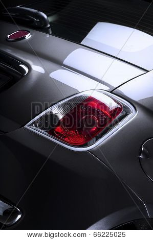 Rear Taillight Of A Car