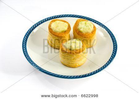 Bouchee a La Reine - Chicken And Asparagus Vol-au-vent