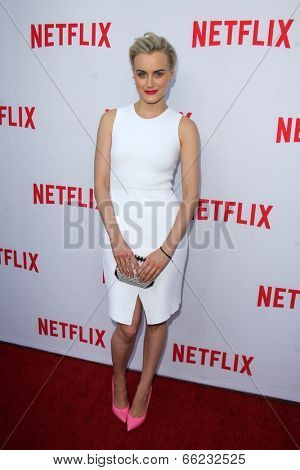 LOS ANGELES - JUN 5:  Taylor Schilling at the Netflix Academy Panel