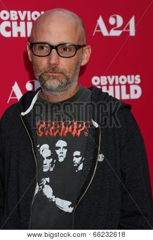 LOS ANGELES - JUN 5:  Moby at the