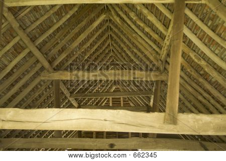 Timber Barn Interior