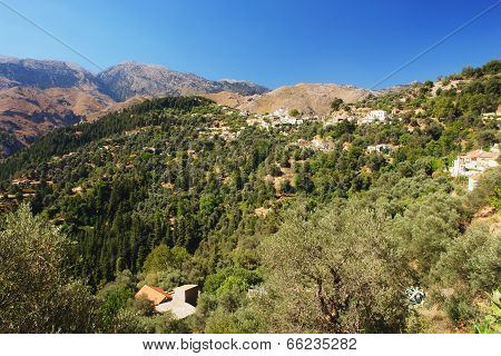 Mountain village, Crete