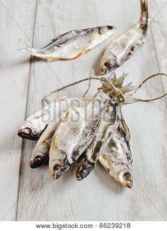 Dried River Fish