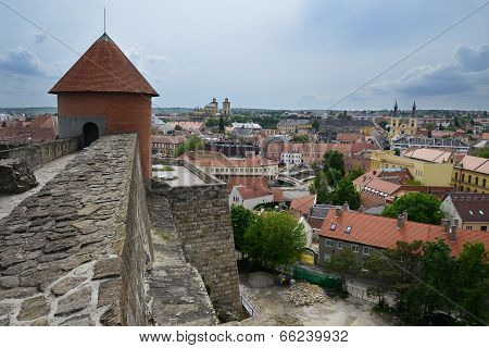 Eger aerial view , Hungary