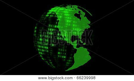 Digital Earth Globe
