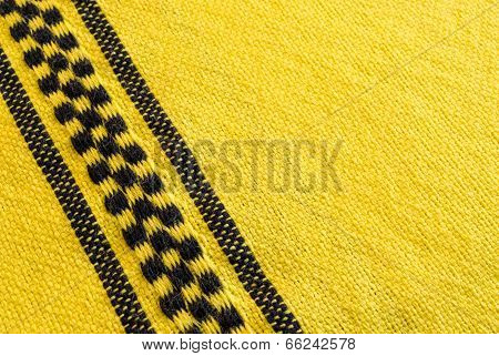 Yellow Cloth With Checks