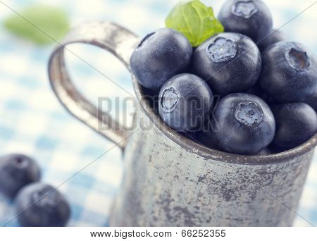 Closeup Of Fresh Blueberries1