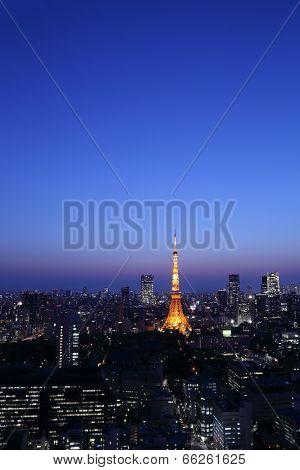 Tokyo Cityscape, Japan