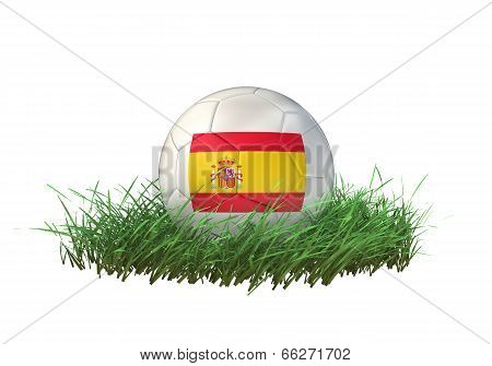 3D soccer ball Spain