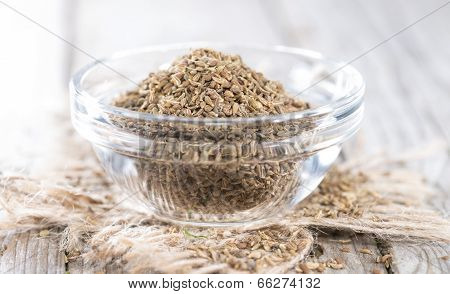 Small Bowl With Aniseed