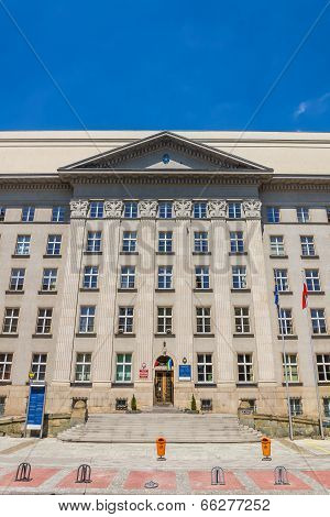 Seat of the local authorities of Silesia Voivodship